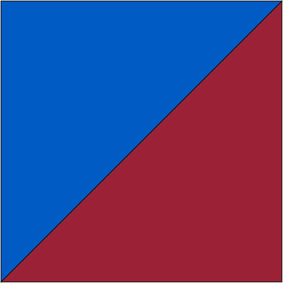 Blau/Bordeaux